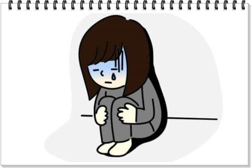 【1分で読める!イラストで簡単にわかる】うつ病ってなに?のこころの変化